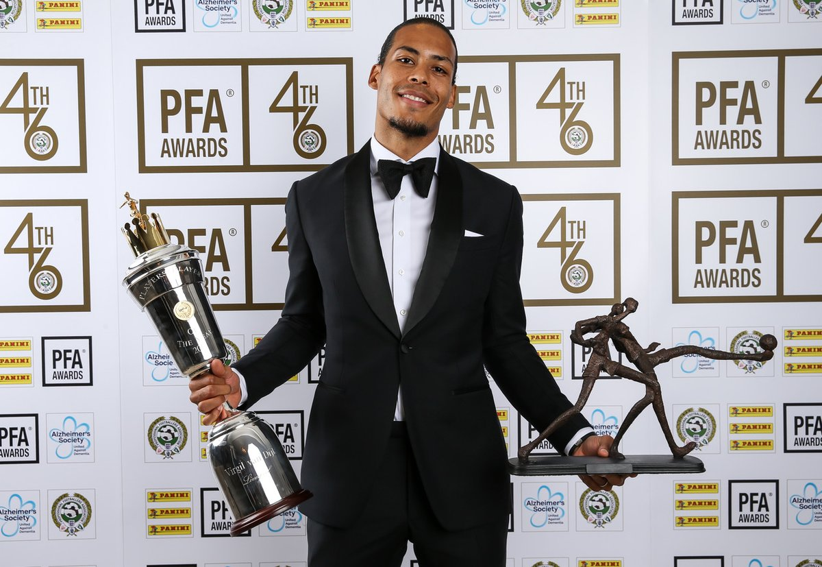 Officiel !!! Van Djik élu meilleur joueur de Premier League de l'année