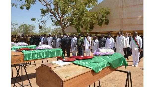 Un prêtre et 5 personnes tués dimanche au Burkina