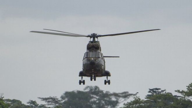 Crash d'un hélicoptère de l'armée camerounaise : Un policier tué et six blessés