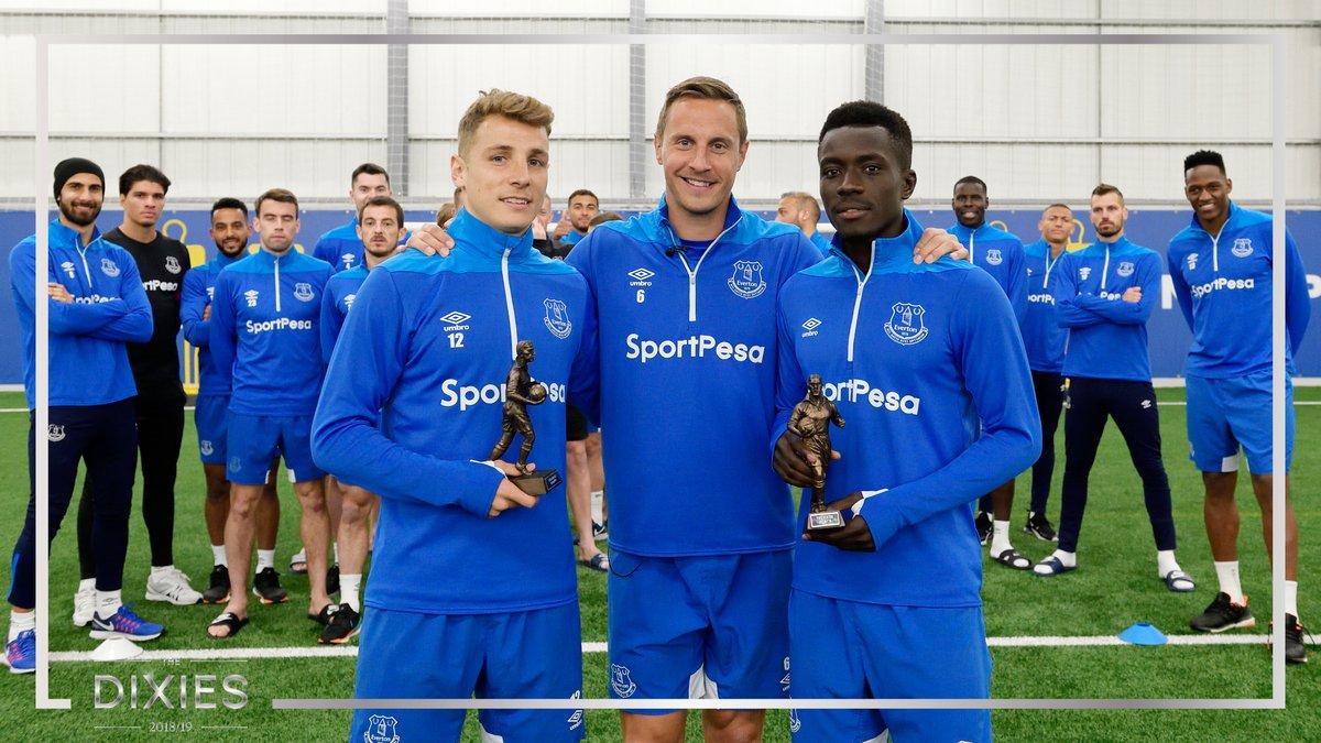 Everton: Idrissa Gana Gueye et Lucas Digne élus meilleurs joueurs de la saison