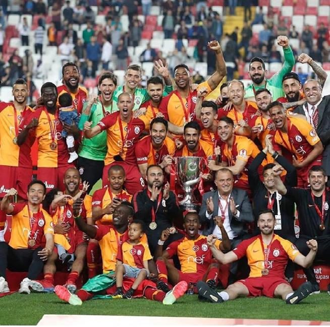 Galasataray : Mbaye Diagne et Pape Alioune Ndiaye  remportent la coupe Turquie