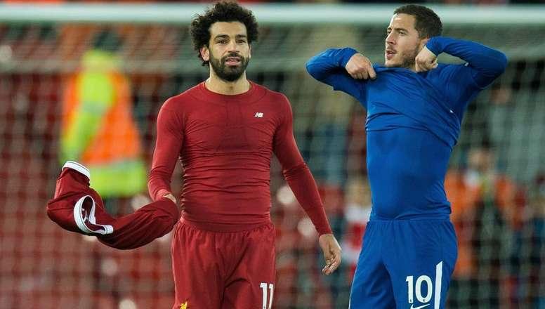 """""""Après Hazard, Salah est la priorité de Madrid"""""""