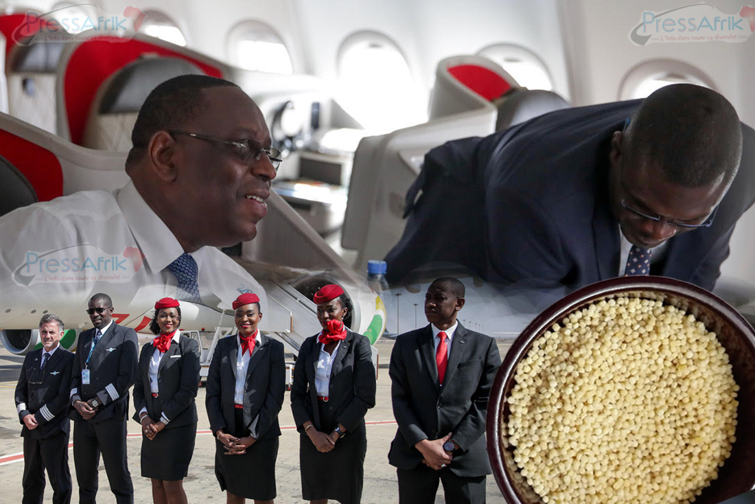 """EXCLUSIF !!! Air Sénégal: PNC et clients dans la misère, du """"Moukhamsa"""" servi à bord, des cadres gâtés"""