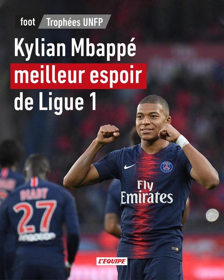 Trophées UNFP: Mbappé élu meilleur espoir Ligue 1 devant Ismaila Sarr