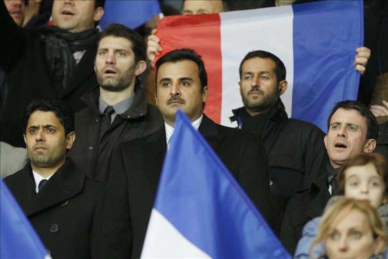 Le cheikh arrive en France après l'annonce de Mbappé