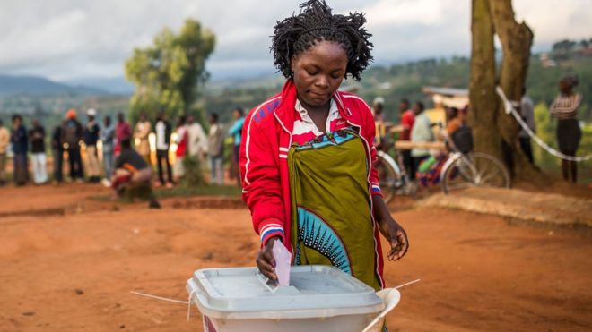 Jour de vote au Malawi