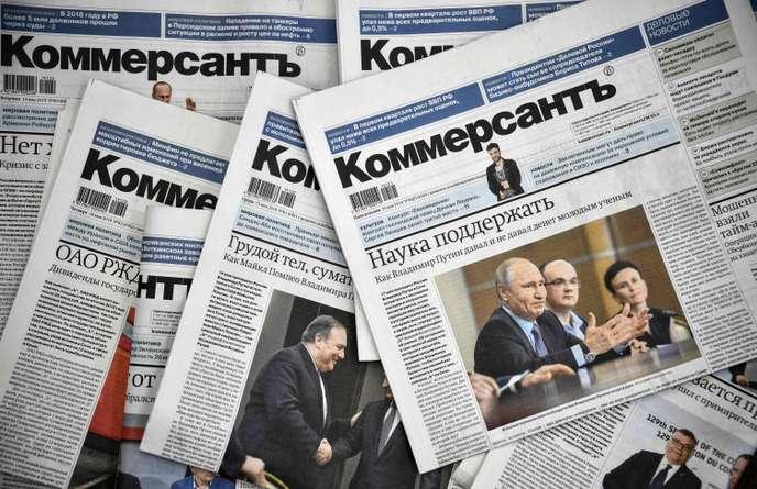 Russie : Démission en bloc de journalistes politiques