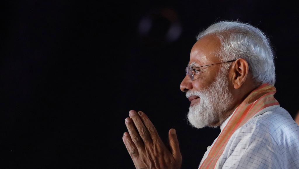 Législatives en Inde: premiers dépouillements, le parti BJP de Modi en tête