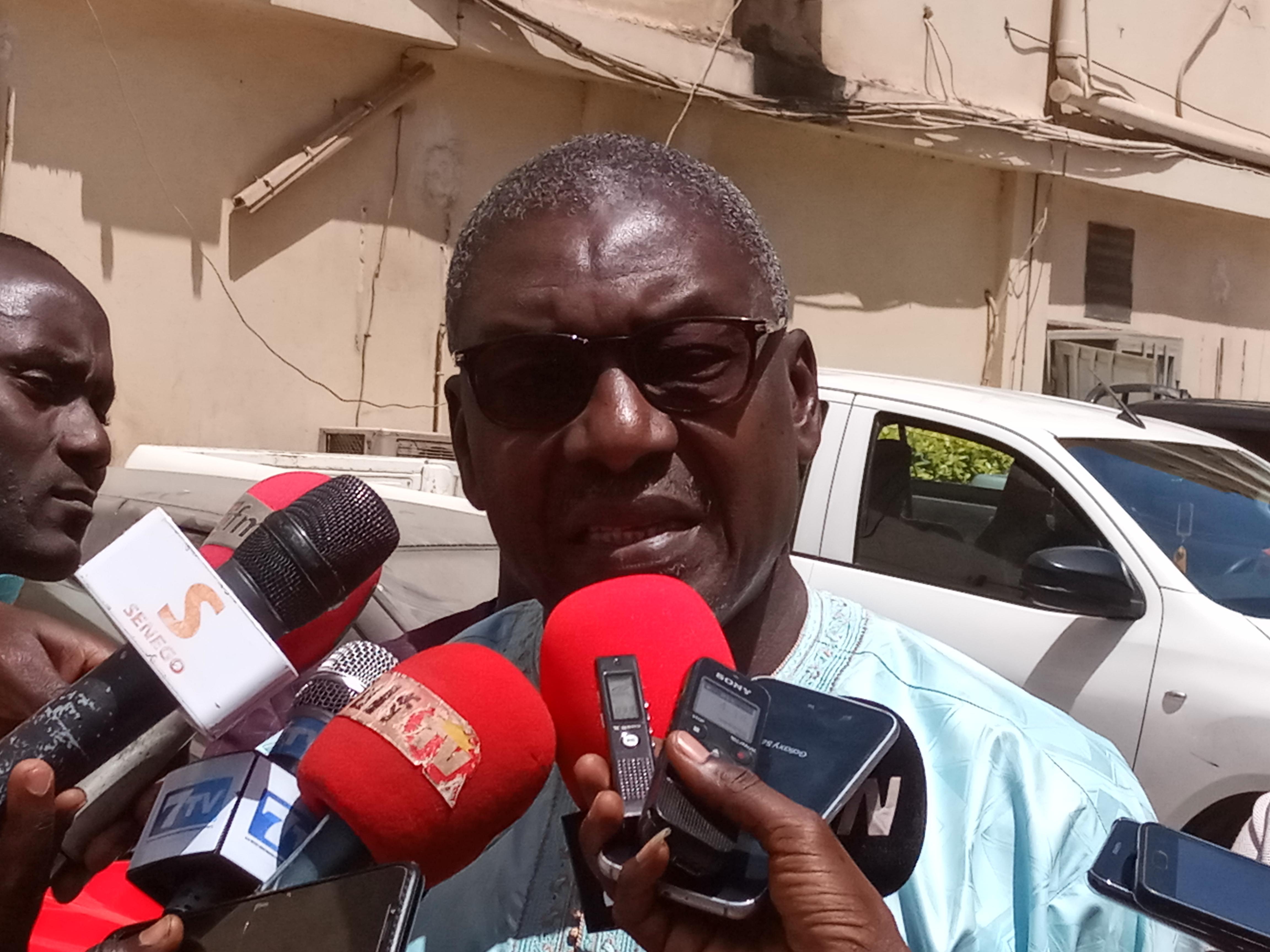 Djibril Gning, porte-parole du jour de la Société civile