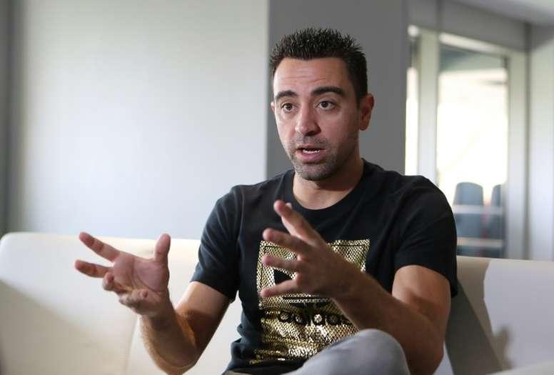 """Xavi: """"Le Barça est le club le plus exigeant, au Real Madrid la victoire leur suffit"""""""