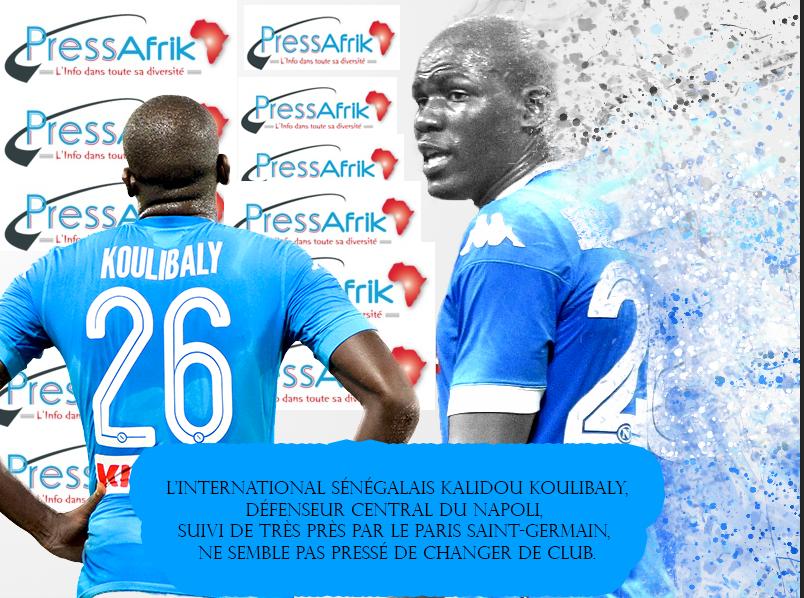 Naples rejette une offre du Real Madrid pour Kalidou Koulibaly !
