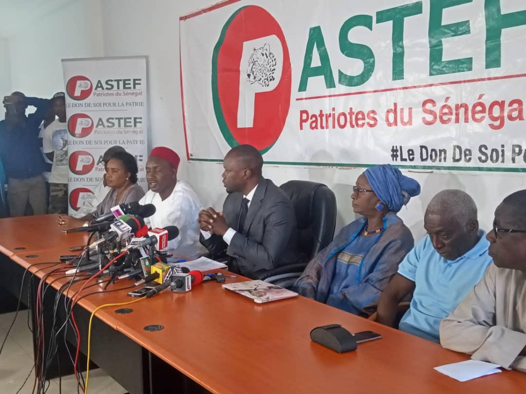 Ousmane Sonko: « le Sénégal n'est pas en guerre »