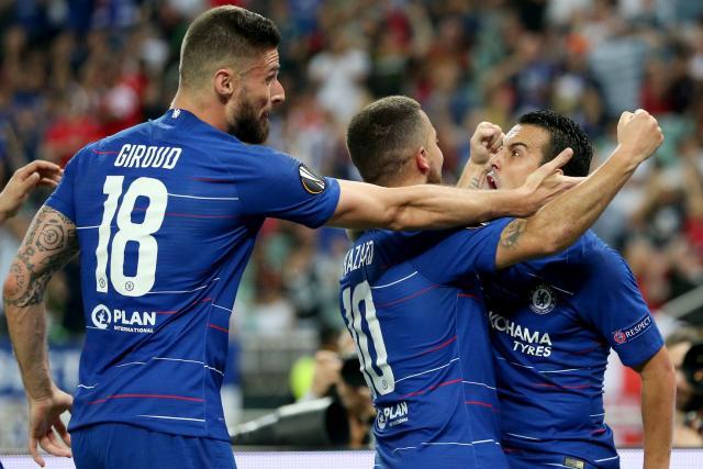 Chelsea vainqueur de la Ligue Europa... en corrigeant Arsenal (4-1)