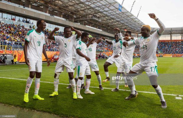 Sénégal Vs Nigeria : But de Ibrahima Niane pour les Lionceaux (2-0, mi-temps)