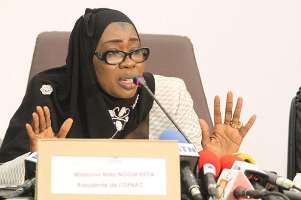 Enquête sur la publication du rapport de l'IGE: l'ex-vérificateur général, Nafi Ngom Keita ciblée