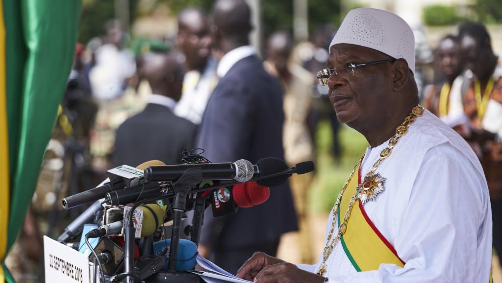 Mali: à Sobane, le président IBK appelle à renoncer aux «actes de vengeance»