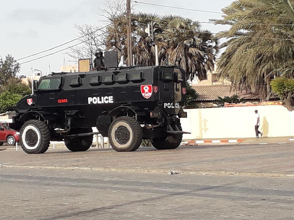 Place de la Nation: Un énorme dispositif sécuritaire sur les lieux pour empêcher le rassemblement de « Aar Li Nu Bokk »