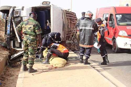 Sedhiou:  deux morts et une dizaine de blessés grave dans un accident à Bourousa