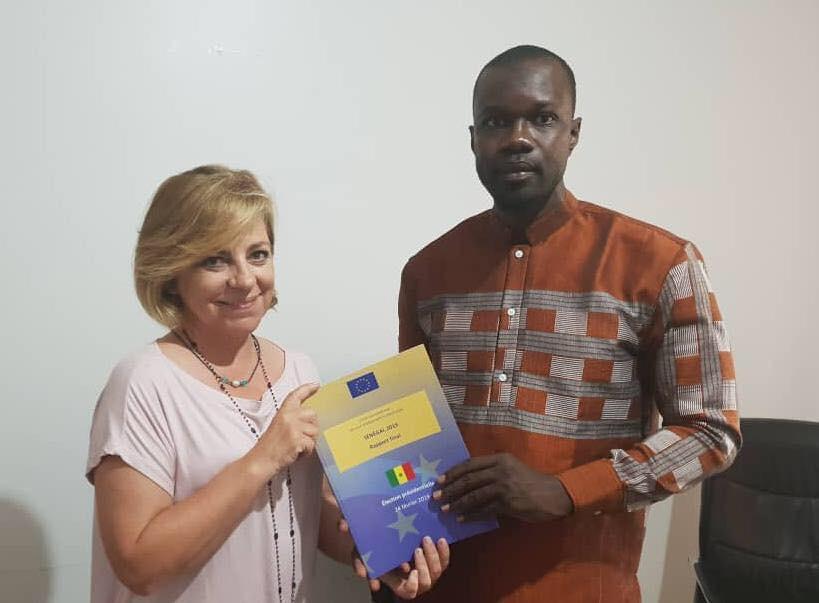 Ousmane Sonko reçoit et tance la Mission d'observation de l'UE
