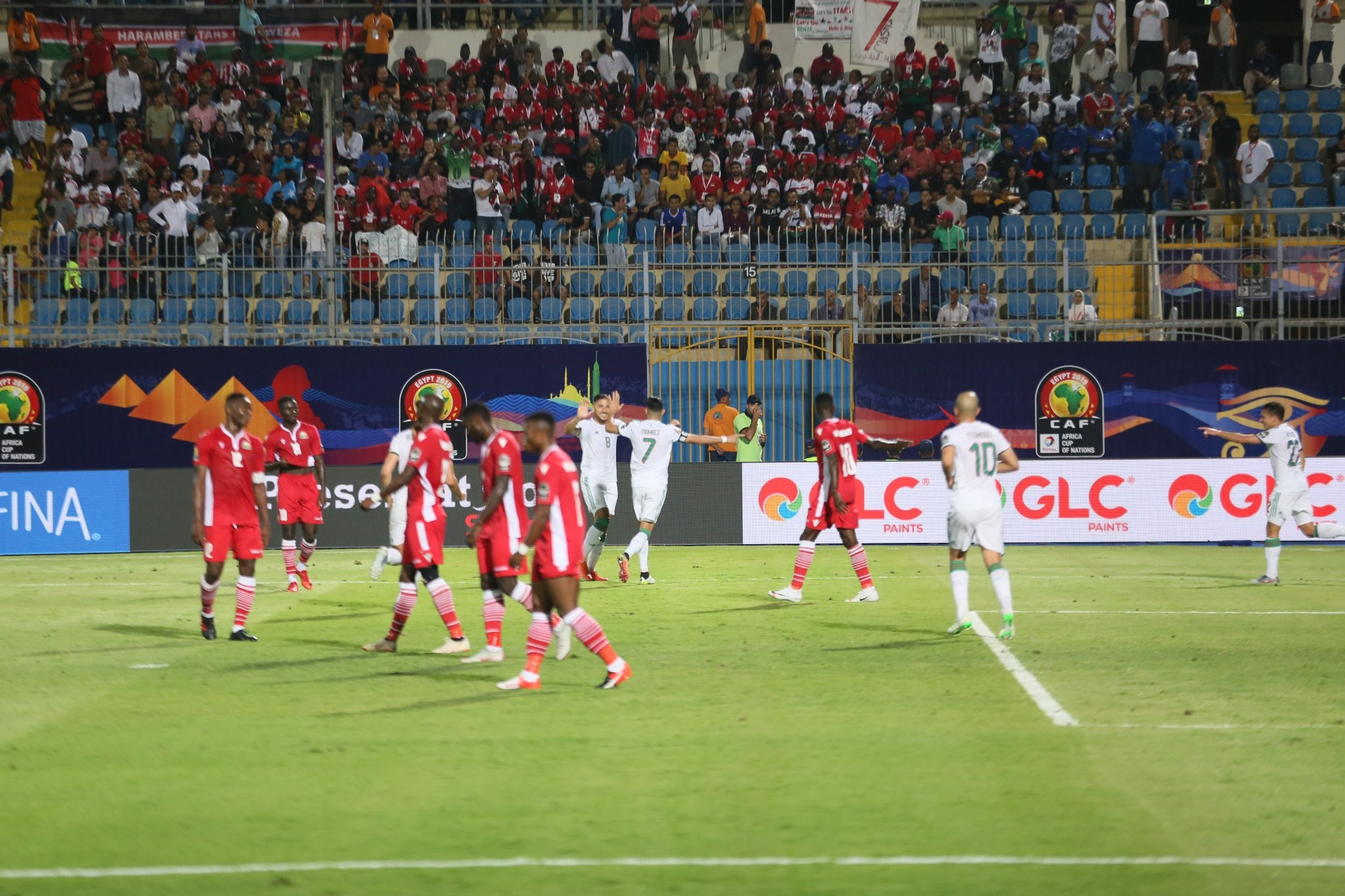 #ALGKEN - L'Algérie s'impose 2-0 et rejoint le Sénégal à la tête du groupe C