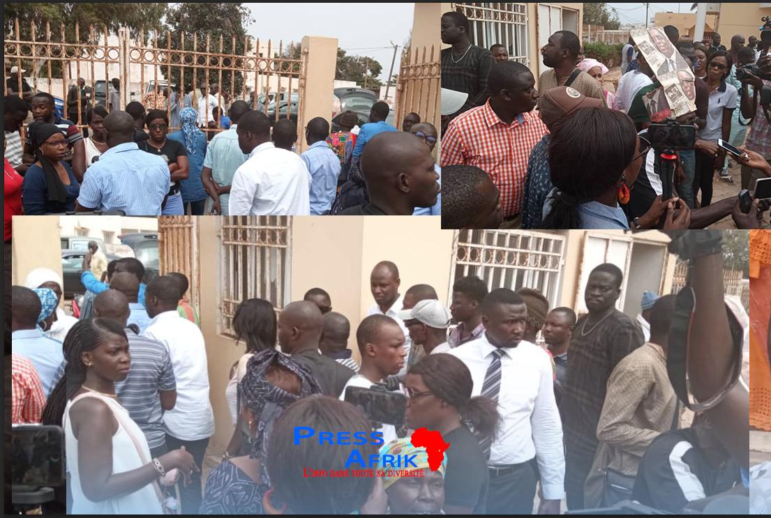 Direct-Mairie de Guédiawaye : Aliou Sall empêché d'entrer dans la mairie pour faire sa déclaration