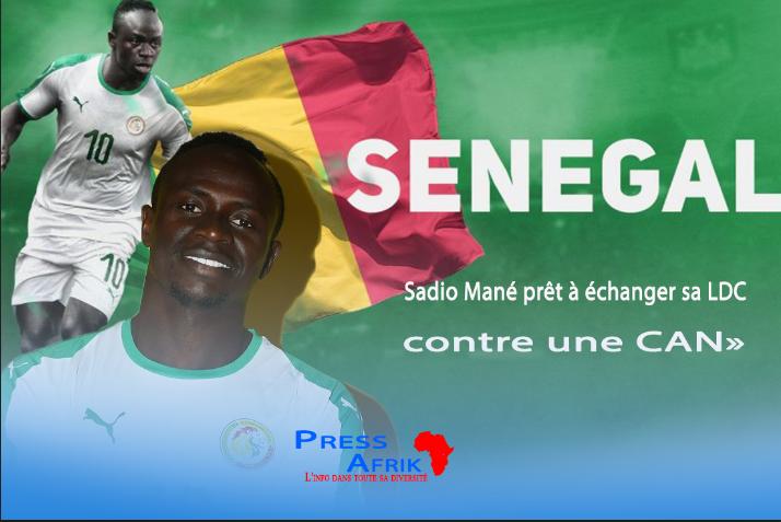 Sadio Mané se dit «Prêt à échanger sa LDC contre une CAN»