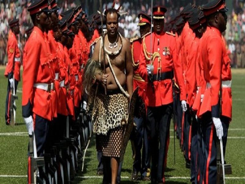 Le Roi d'Eswatini, Mswati III, annoncé à Dakar