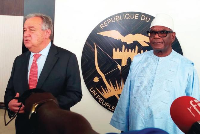 Un groupe des Nations Unies pour le développement durable au Mali à partir du 09 juillet