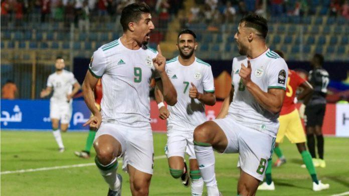 Mi-temps : l'Algérie mène 1 à 0 devant la Côte d'Ivoire en quart de finale de la Can
