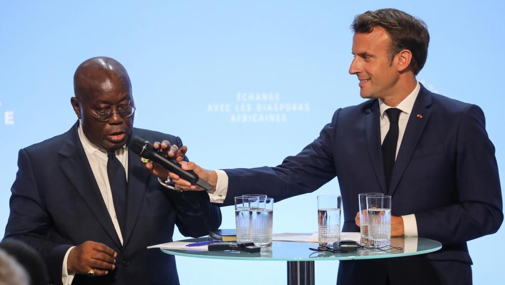 Diasporas: une rencontre économique pour les présidents français et ghanéen