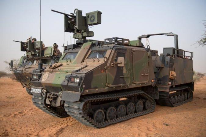 L'armée française va tester des robots lourds en opération au Mali dès l'année prochaine