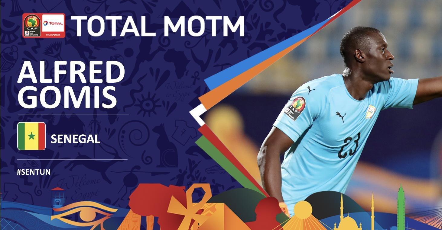 Alfred Gomis élu Homme du match Sénégal-Tunisie