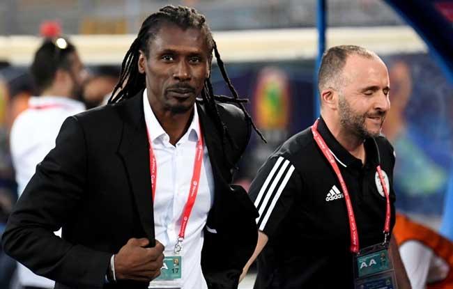 #CAN2019: Aliou Cissé et Belmadi, la belle histoire