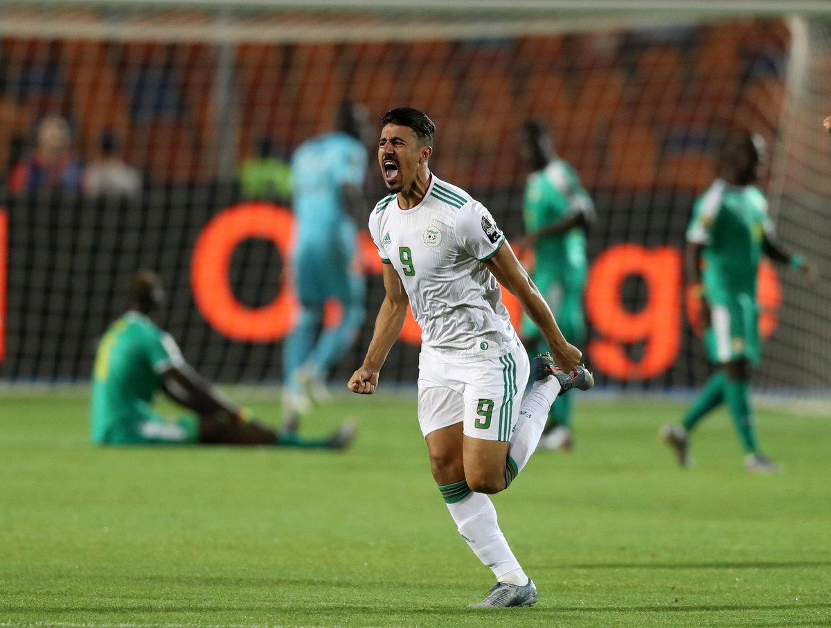 Direct-stade du Caire : L'Algérie ouvre le score dès la deuxième minute de jeu