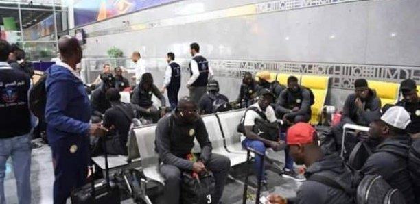 Les Lions attendus à Dakar ce samedi à 14h