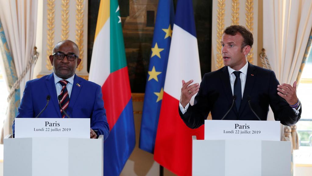 Mayotte reste un point de «désaccord» entre Macron et le président comorien