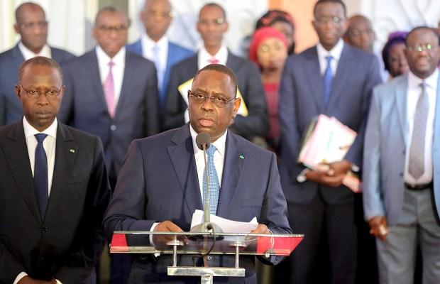 Le Conseil des ministres de ce mercredi reporté par Macky