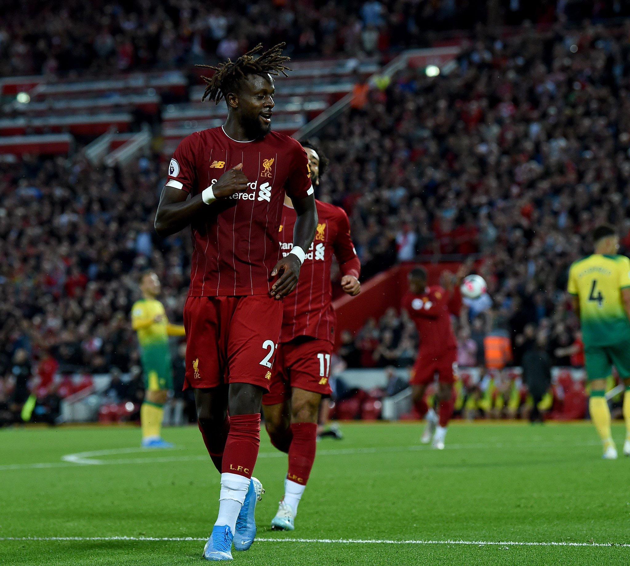 Première journée Premier League: Liverpool s'offre le promu Norwich (4-1)