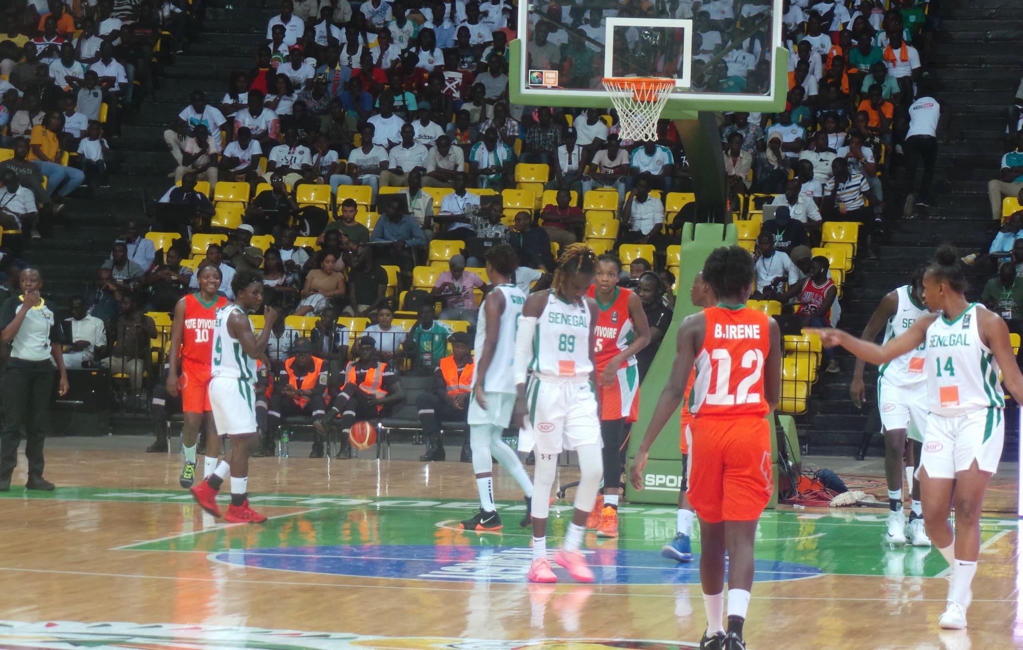 Afrobasket Féminin 2019: les «Lionnes» atomisent la Côte d'Ivoire (77-36)