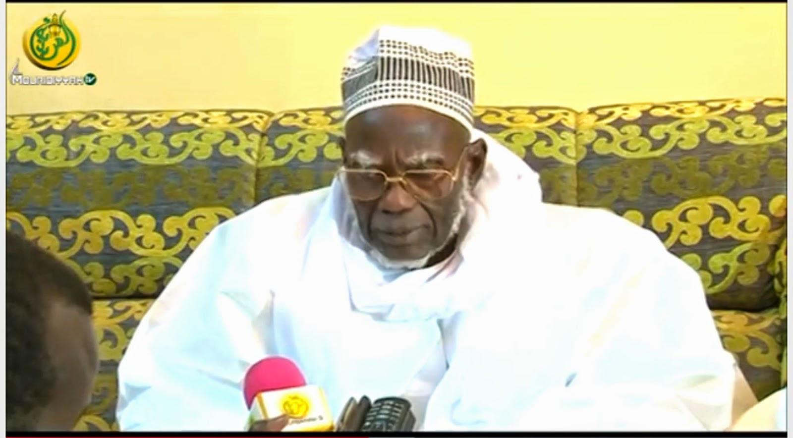 Interdits à Touba: le Khalife général se dit satisfait de l'adhésion des populations