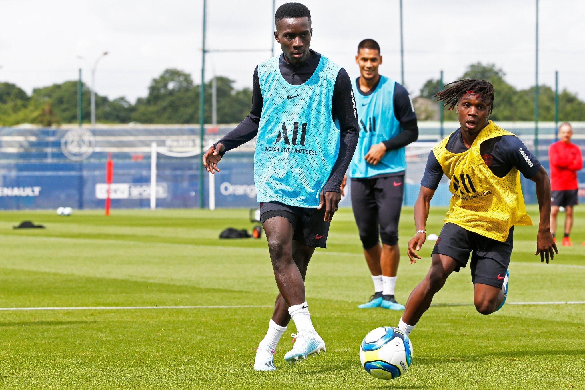 Paris Saint-Germain: Gana Gueye a effectué sa première séance d'entrainement