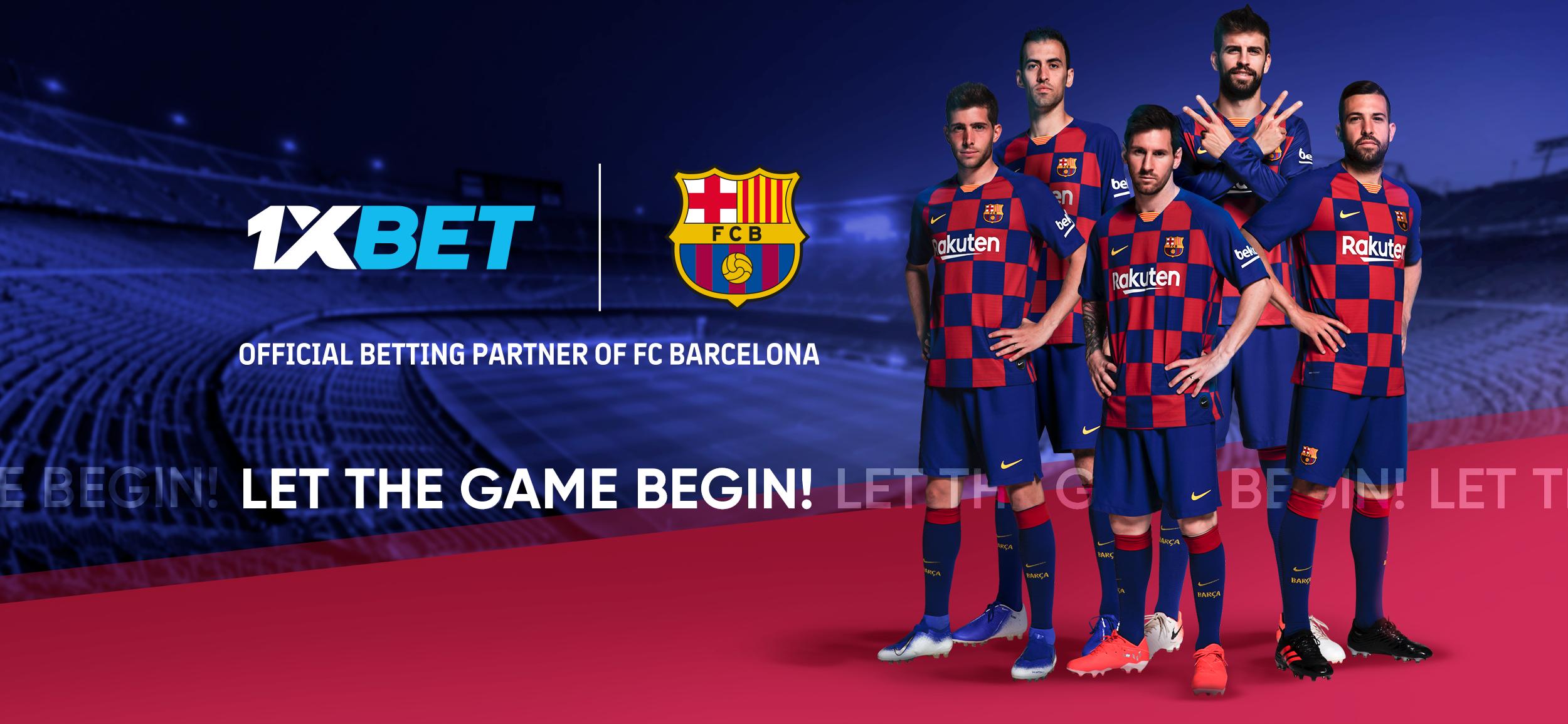 1xBet conclu un accord avec FC Barcelone et devient partenaire global