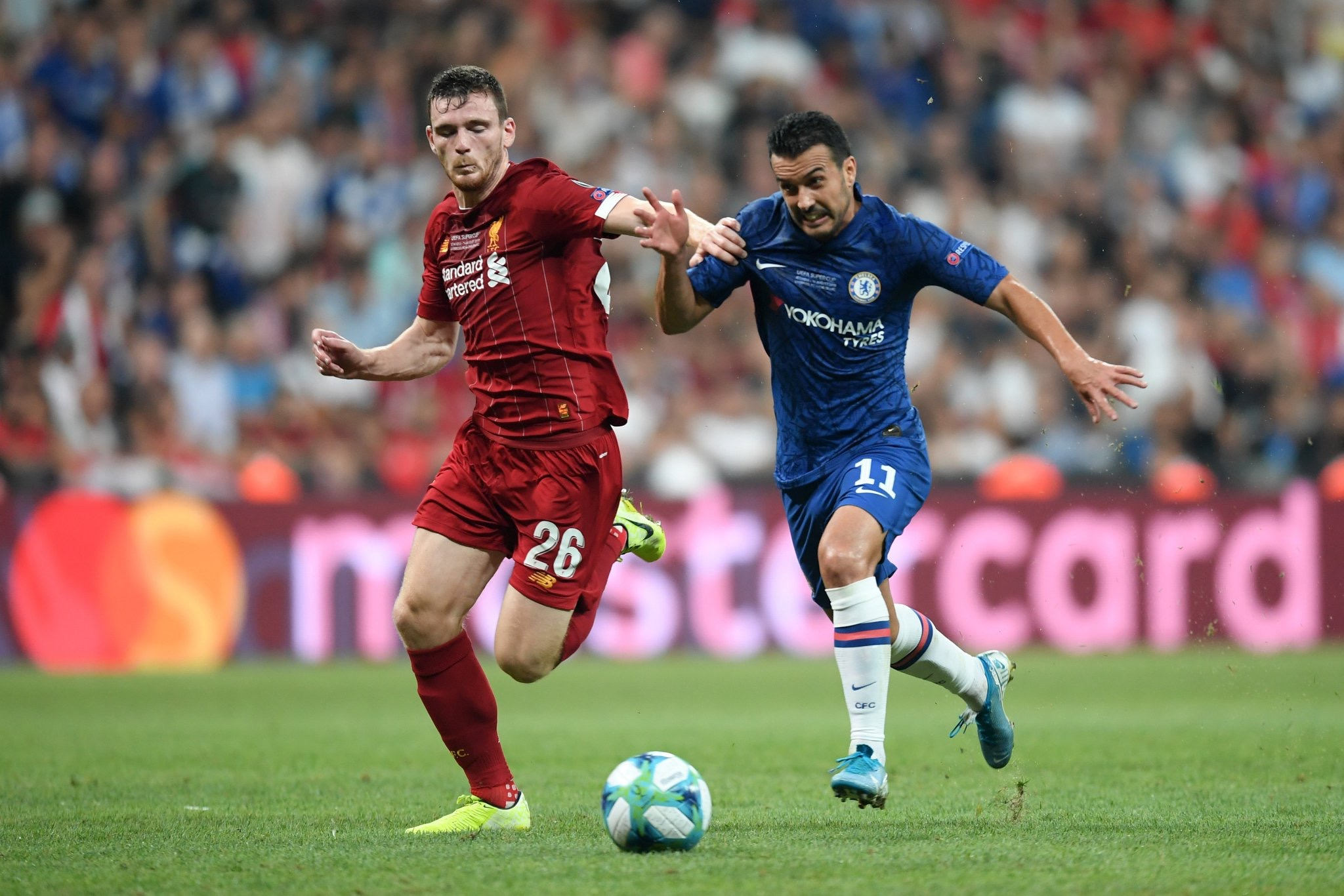 Finale Supercoupe d'Europe: Chelsea répond à Mané (2-2)