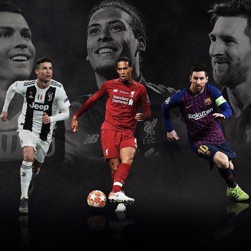 Joueur UEFA de l'année: Messi, Van Djik et CR7 nominés... Mané zappé