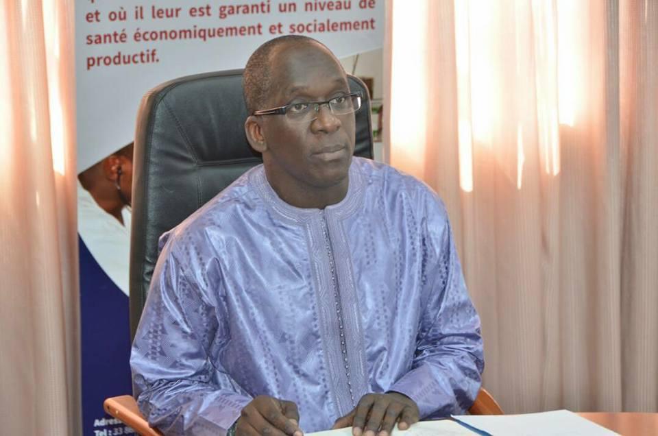 Abdoulaye Diouf Sarr, ministre de la Santé et de l'Action sociale