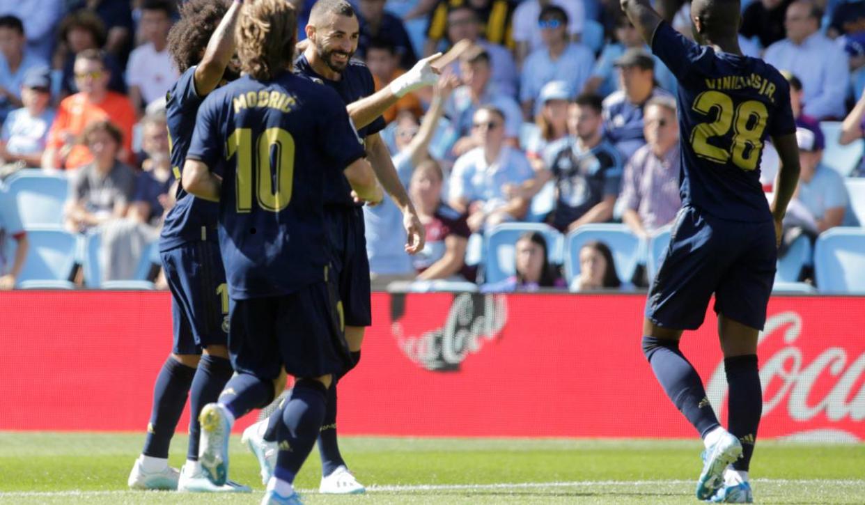 Première journée Liga: sans Hazard, le Réal Madrid s'impose à Vigo (1-3)
