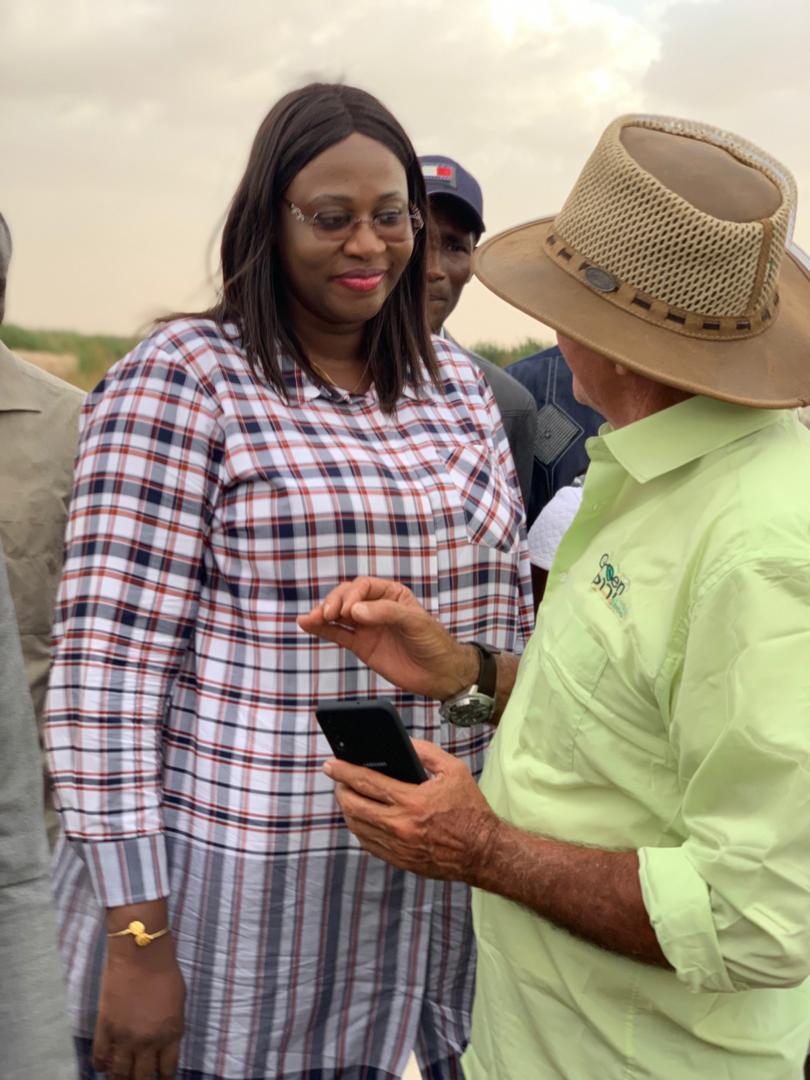 Vacances citoyennes  2019 : A Louga, Néné Fatoumata Tall constate les avancées des travaux du Dac de Keur Momar Sarr