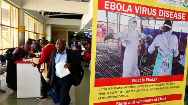 Ebola : la RDC projette une vaccination transfrontalière