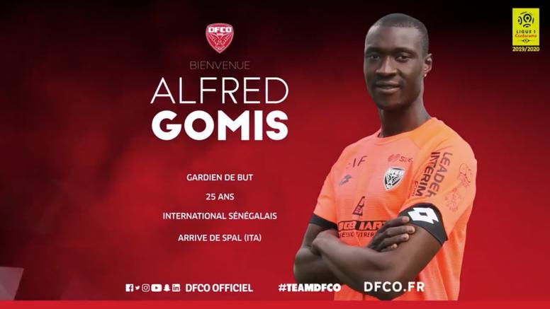Dijon confirme l'arrivée d'Alfred Gomis