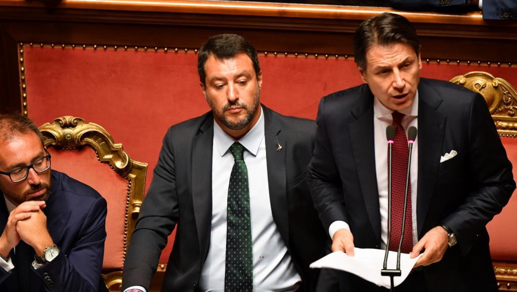 Italie: le président du Conseil Giuseppe Conte annonce sa démission